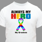 Personalized My Autistic Hero T-Shirt 34092X