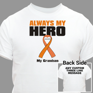 Personalized Multiple Sclerosis Hero T-Shirt