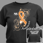 Personalized MS Awareness T-Shirt 34186X