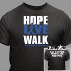 Hope Live Walk Colon Cancer Awareness T-Shirt 34240X