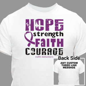 Cure Alzheimers Awareness T-Shirt