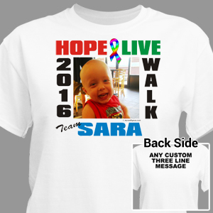 Autism Walk Photo T-Shirt