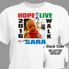 Autism Walk Photo T-Shirt 34259X