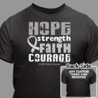 Cure Brain Cancer T-Shirt 34382X