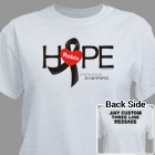 Melanoma Hope Awareness T-Shirt 34479X