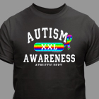 Autism Awareness Athletic Dept. XXL T-Shirt 35523X