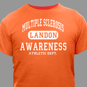 Multiple Sclerosis Awareness Athletic Dept. T-Shirt