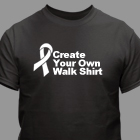 Custom Printed Awareness T-Shirt