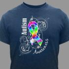 Autism Ribbon Awareness T-Shirt 35680X