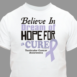 Cure Testicular Cancer Awareness T-Shirt