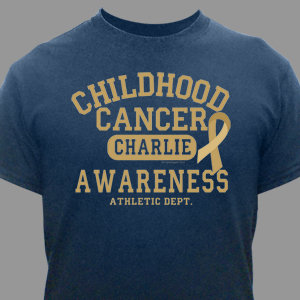 Childhood Cancer Awareness Athletic Dept. T-Shirt