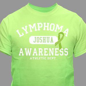 Lymphoma Awareness Athletic Dept. T-Shirt