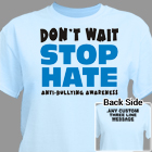 Anti Bullying Awareness T-Shirt 36161X