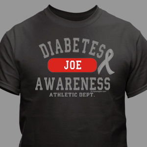 Diabetes Awareness Athletic Dept. T-Shirt