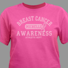 Breast Cancer Awareness Athletic Dept. T-Shirt 36972X