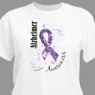Alzheimer's Awareness Ribbon T-Shirt 37091X