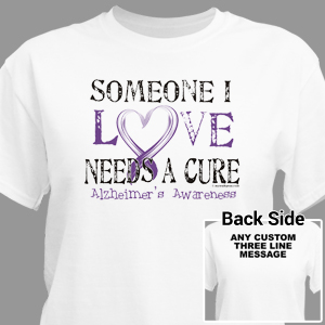 f152f116f Alzheimer's Awareness Shirts | Alzheimer's Walk Gear