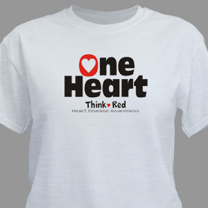 Heart Disease Awareness T-Shirt
