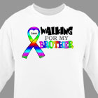 Personalized Walking For Autism Sweatshirt 54088X