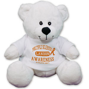 Personalized Mulitple Sclerosis Awareness Teddy Bear - 8