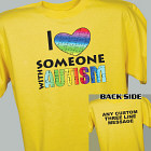 Personalized I Love My Autistic Sister T-Shirt 34091X