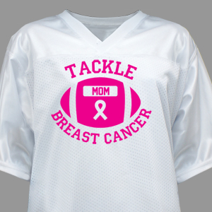 Tackle Breast Cancer Football Jersey