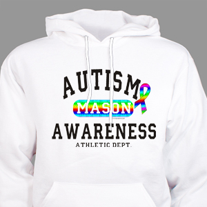 Autism Awareness Athletic Dept. Hooded Sweatshirt