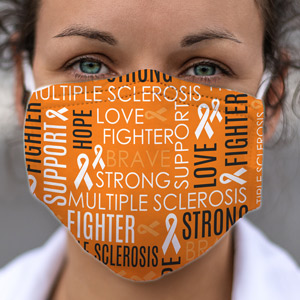 Multiple Sclerosis Awareness Face Mask