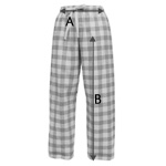 Flannel Pant Size