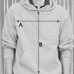 Hooded Sweatshirt Size