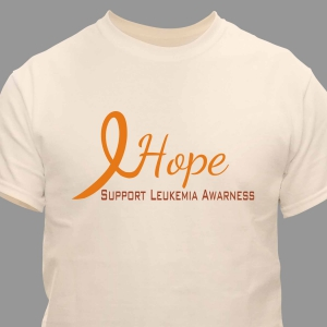 Hope Leukemia Awareness T-Shirt