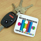 Personalized Autism Awareness Keychain 340940
