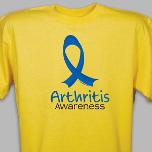 Arthritis Awareness Ribbon T-Shirt