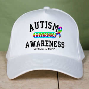 Personalized Autism Athletic Dept. Hat