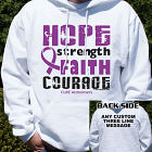 Cure Alzheimers Awareness Hooded Sweatshirt
