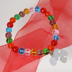Engraved Autism Awareness Bracelet