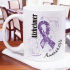Alzheimer's Awareness Ribbon Mug 270910