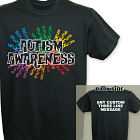 Personalized Autism Walk Team T-Shirt 34093X