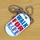 Walk for Life Cancer Dog Tag