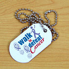 Walk to Defeat Cancer Dog Tag