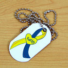 Personalized Down Syndrome Awareness Dog Tag