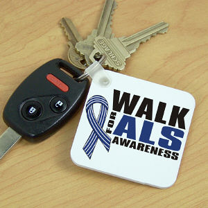 Walk for ALS Awareness Key Chain
