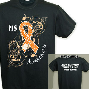 Personalized MS Awareness T-Shirt