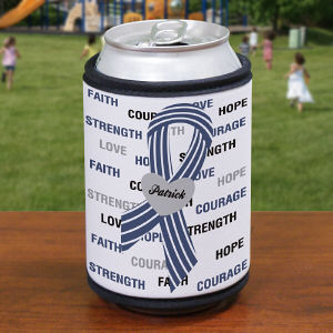 Hope and Love ALS Awareness Can Wrap Koozie