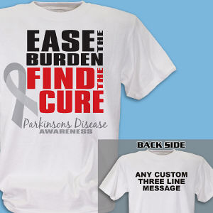 Find the Cure Parkinson's Disease Awareness T-Shirt