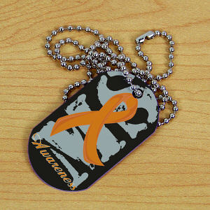 MS Awareness Dog Tag