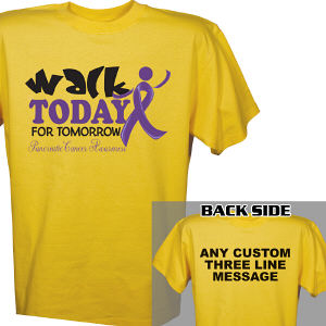 Walk Today For Pancreatic Cancer Awareness T-Shirt