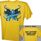 Butterfly Colon Cancer Survivor T-Shirt 34310X