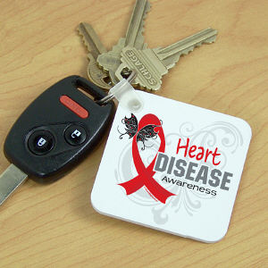 Heart Disease Awareness Key Chain
