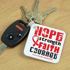 Heart Disease Hope Key Chain 343840